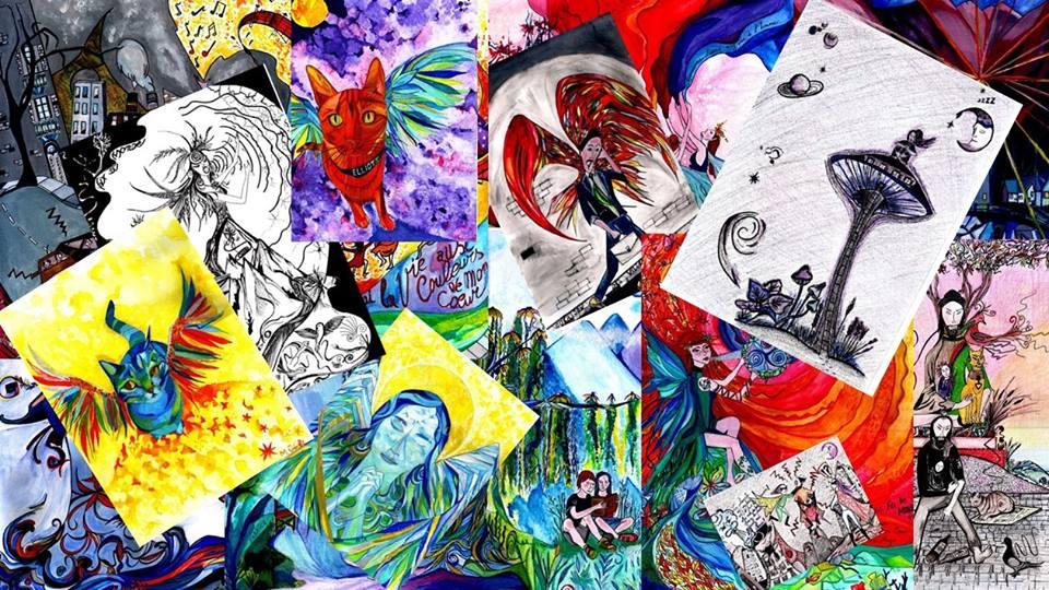 toutes mes peintures et dessins